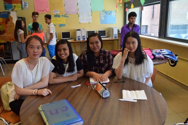 Alumnos del aula de
