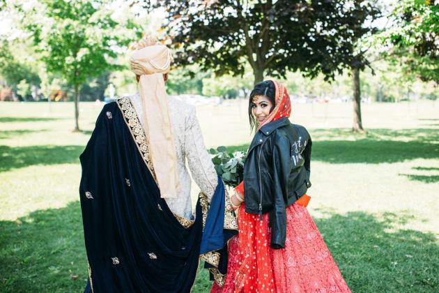 Rima Khullar and her husband