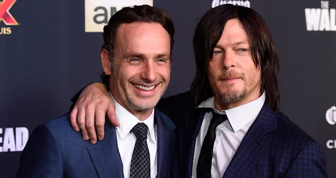 "AMC Celebrates The Season 5 Premiere Of ""The Walking Dead"" - Arrivals"