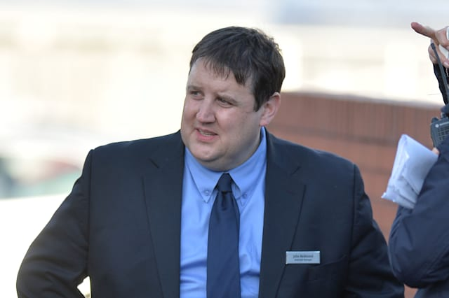 Peter Kay Seen Filming 'Car Share' In Manchester