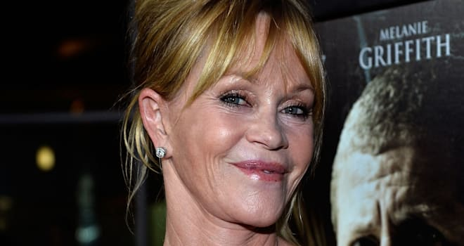 Melanie Griffith at the Hollywood Premiere of 'Dark Tourist' on August 14, 2013