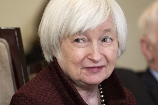 Yellen to Trump: this is your mess now, Mr President