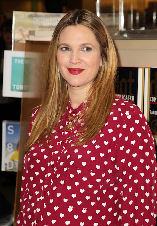 Drew Barrymore Book Signing For