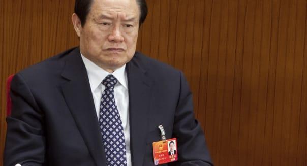 Zhou Yongkang, China's top security official