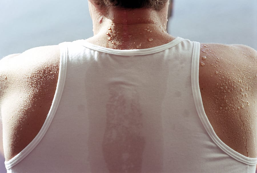 Sweat is a common by-product of exercise, but it can also trigger 'sweating
