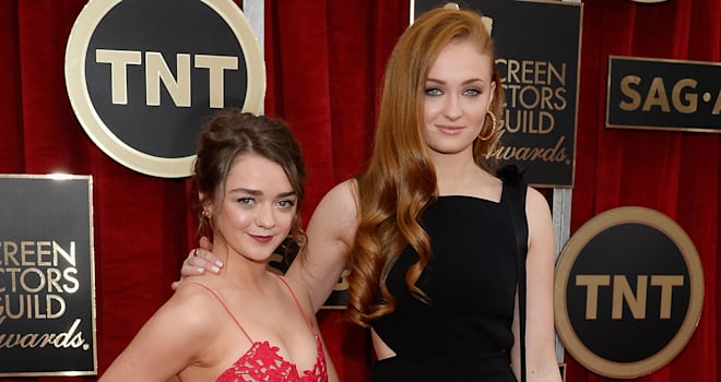 'Game of Thrones': Maisie Williams Sent Sophie Turner the Cutest 21st Birthday Note