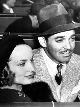 USA Carole Lombard and Clark Gable