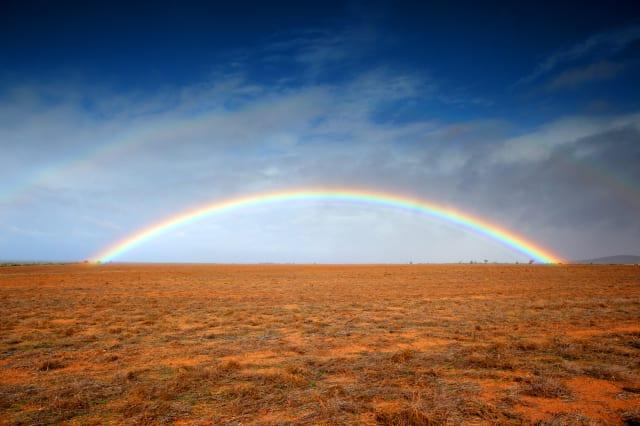 Outback rainbow