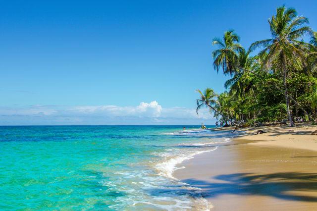 Caribbean beach close to Puerto Viejo - Costa Rica