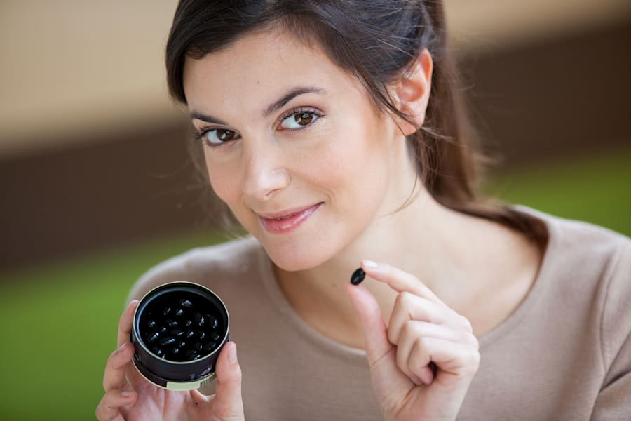 Activated charcoal can come in the form of tablets or powder and be added to a range of
