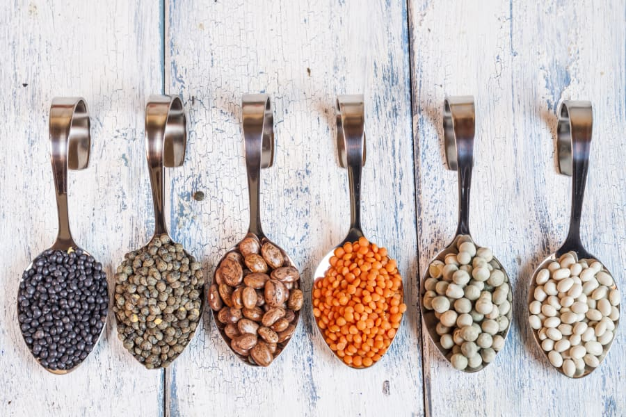 Try adding legumes to curries, bolognese, Mexican dishes and