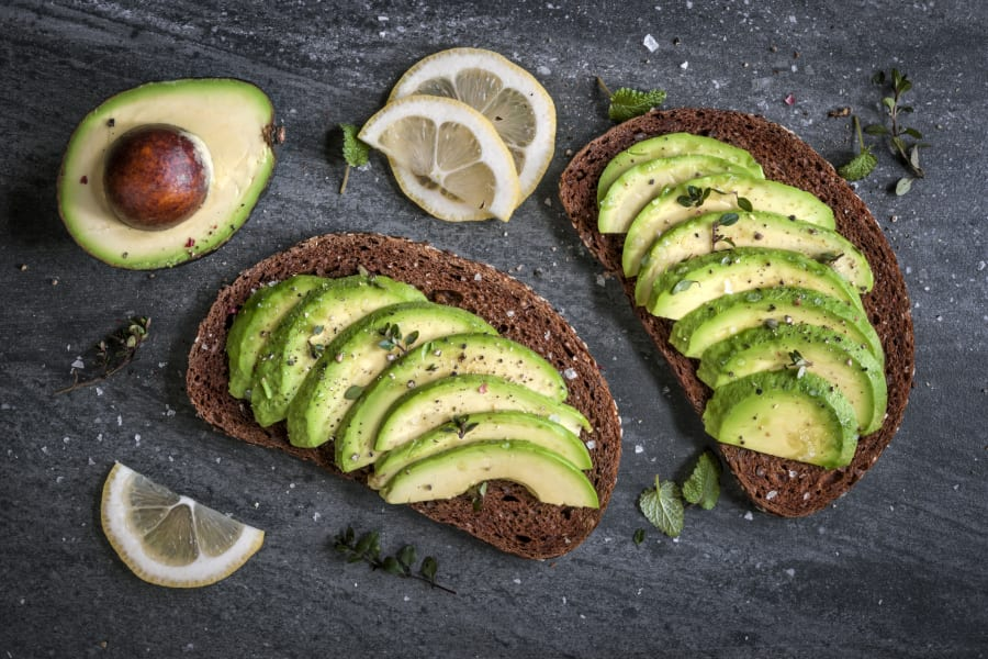 Slice some avo and serve on on toasted dark rye bread with a squeeze of