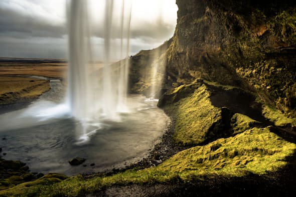 Iceland's volcanic landscapes are