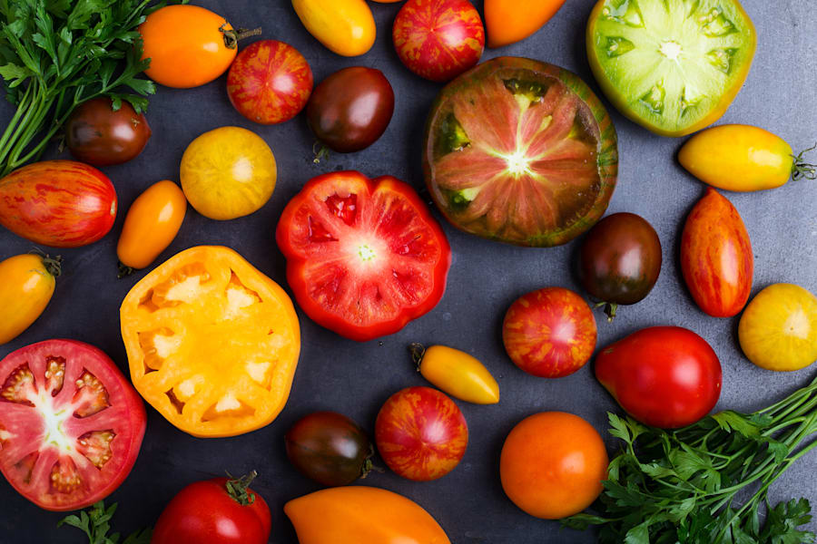 Your local greengrocer or farmers' markets will have more healthy foods and less junk