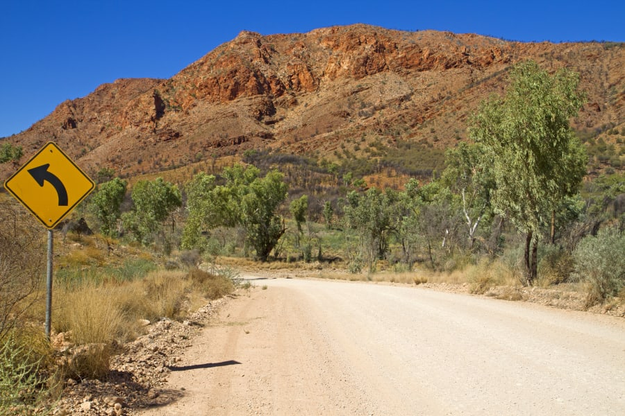 Every road in the East MacDonnell Ranges takes you somewhere
