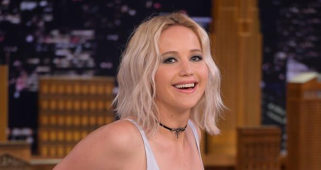 "Jennifer Lawrence Visits ""The Tonight Show Starring Jimmy Fallon"""