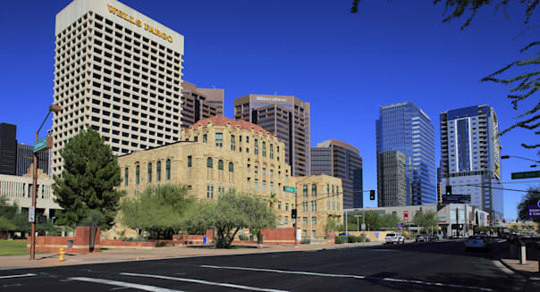 Old city hall of Phoenix