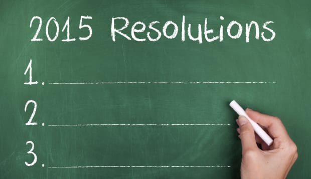 New Year Resolutions for 2015