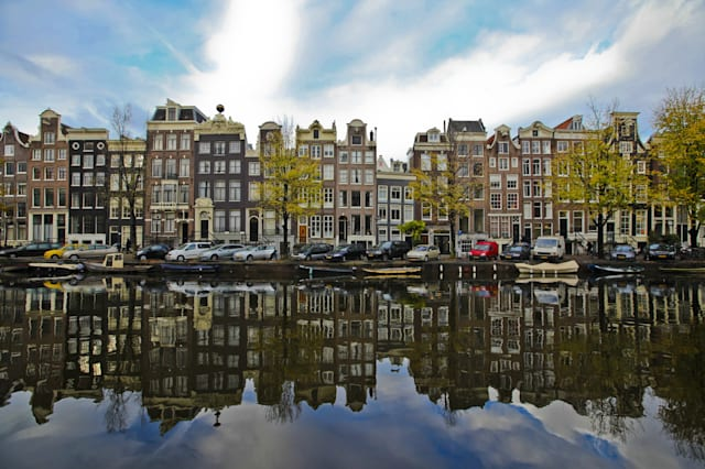 The Amsterdam canal system is the result of conscious city planning. In the early 17th century, when immigration was at a peak,