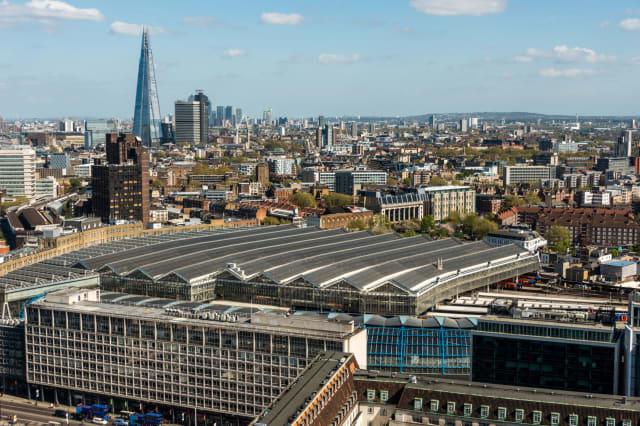 London Waterloo railway station, London, England