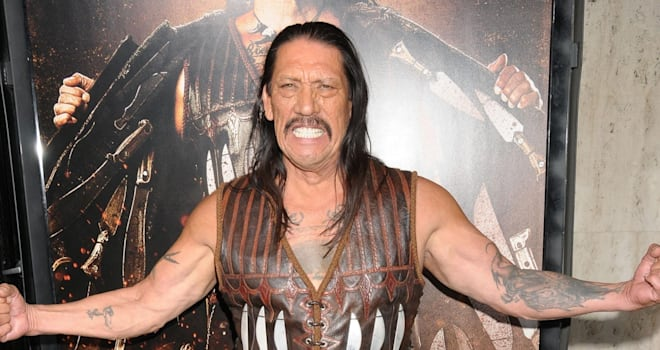 Aug. 25, 2010 - Los Angeles, California, USA - Aug 25, 2010 - Los Angeles, California, USA - Actor DANNY TREJO at  the 'Machete'