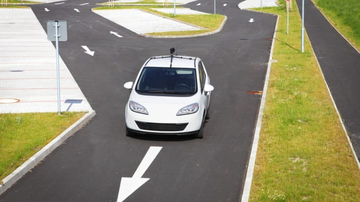 Fictive self driving car