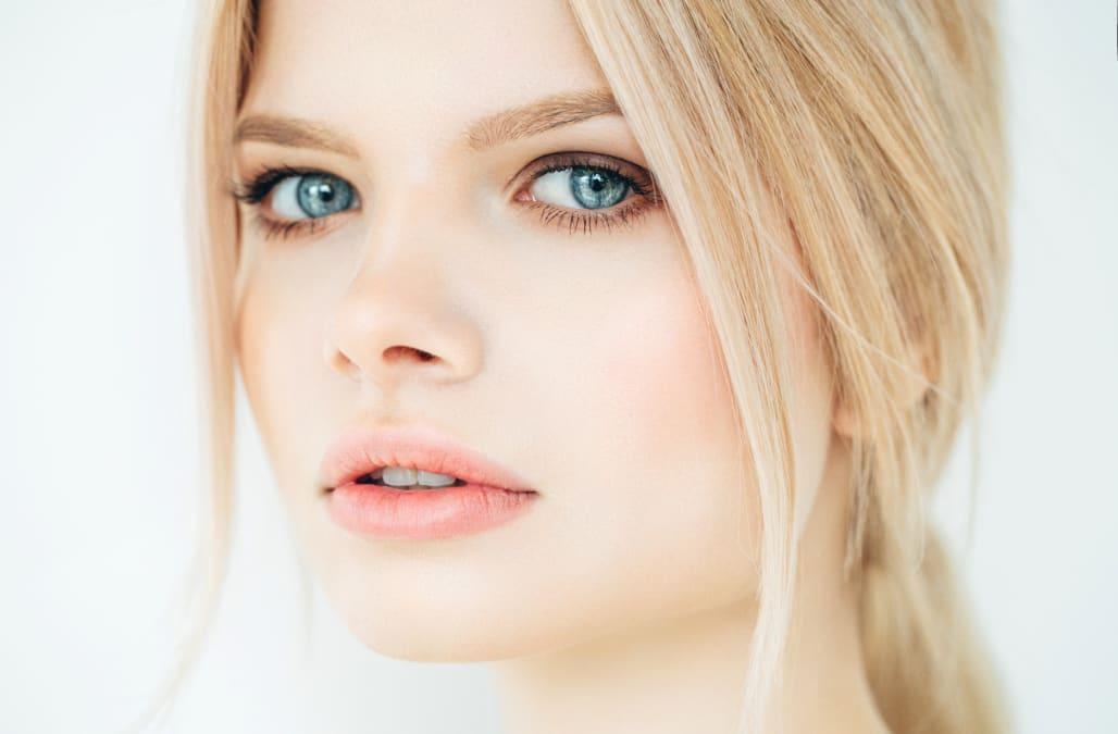 Shimmery Platinum Blonde