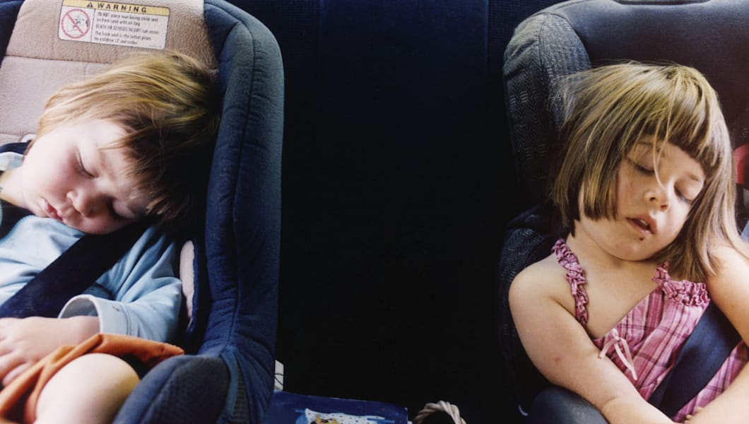 Thanksgiving travel is easier if you drive when the kids will sleep.