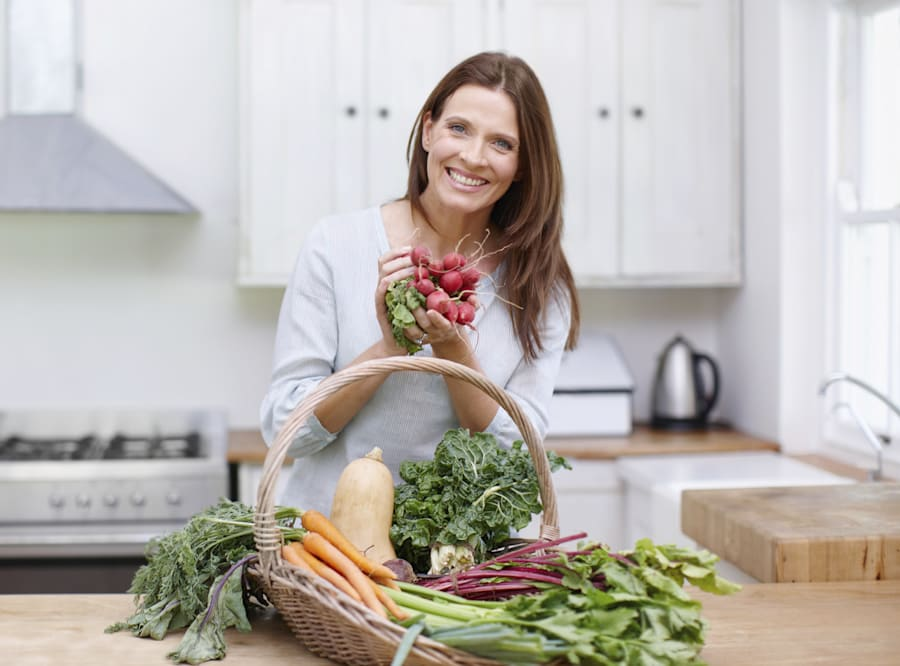 Our body thrives on all the vitamins and nutrients found in plant-based