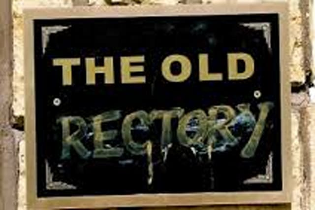 The 'Old Rectory' sign in Coronation St