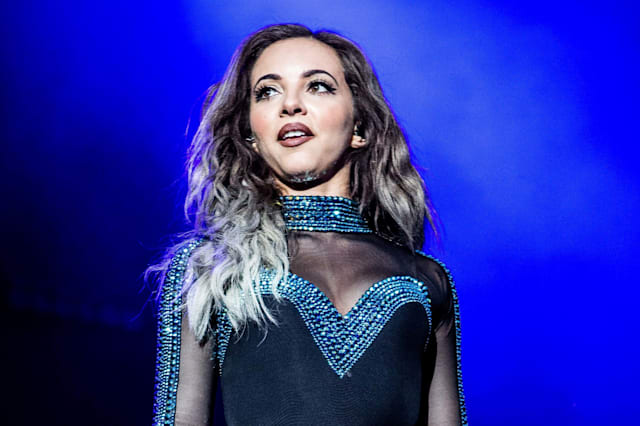 Jade Thirlwall of the girl pop band Little Mix pictured on