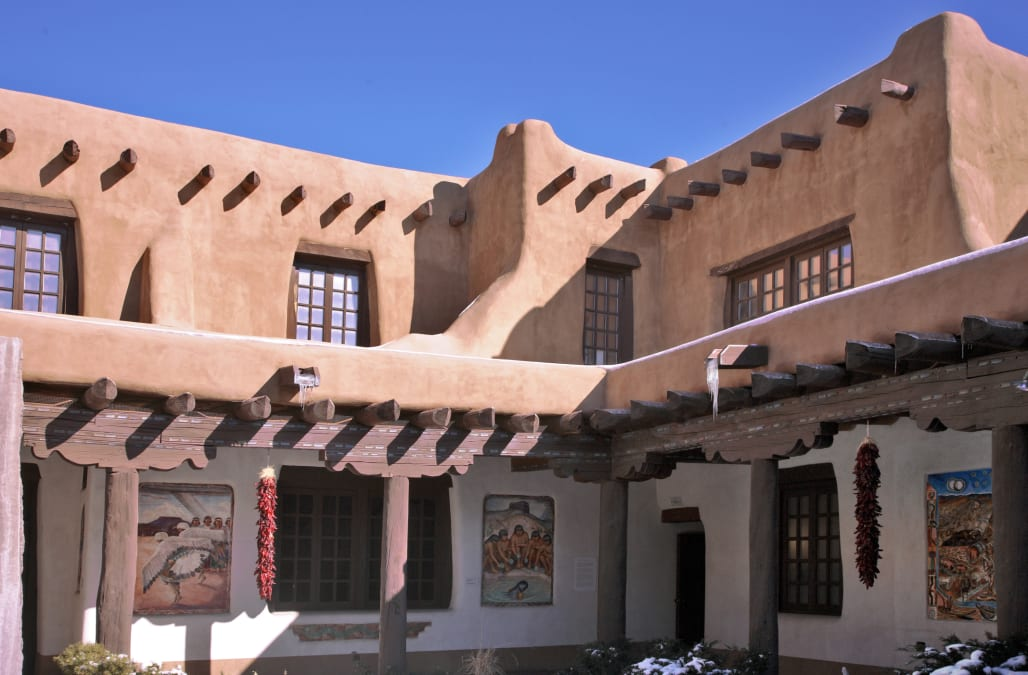 USA, New Mexico, Santa Fe, New Mexico Museum of Art