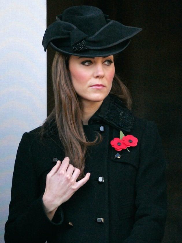 Kate Middleton on Remembrance Sunday