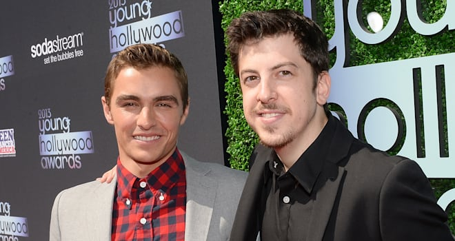 Dave Franco and Christopher Mintz-Plasse at the 2013 Young Hollywood Awards