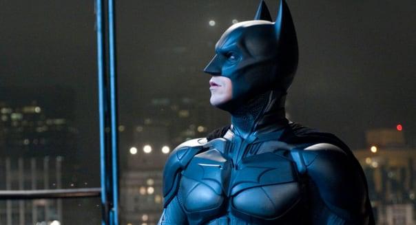 THE DARK KNIGHT RISES 2012 Warner Bros film with  Christian Bale as Batman