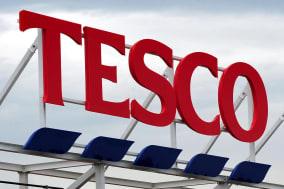 Tesco reports dip in sales
