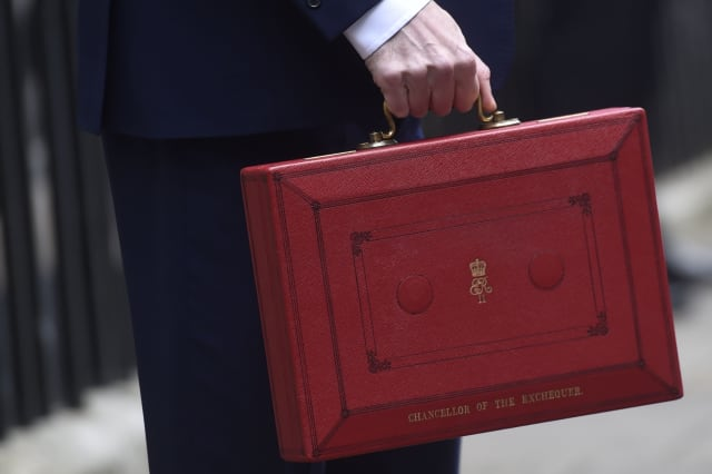 File photo dated 16/03/16 of the Chancellor of the Exchequer's red Ministerial box. Chancellor Philip Hammond has signalled he will prioritise building up a Brexit safety net fund ahead of launching a spending spree in Wednesday's Budget.