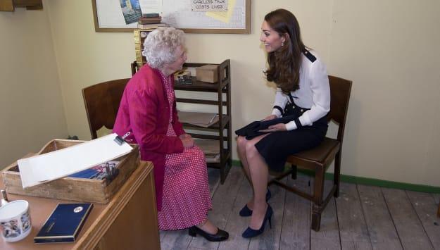 Kate Middleton talks