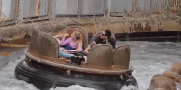 The Thunder River Rapids Ride was considered a family friendly