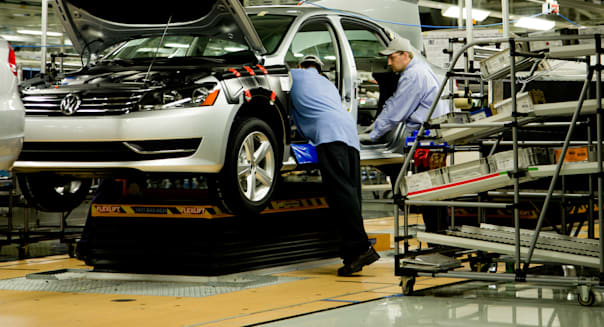 VW chattanooga tennessee plant passat