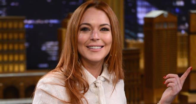 Lindsay Lohan Visits