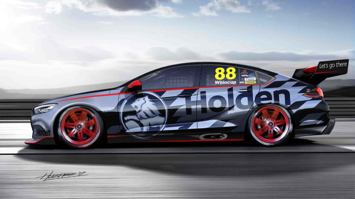 2018 Holden Commodore Australian Supercars race car