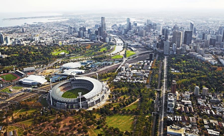 The MCG is one of 5 incredible sports stadiums in