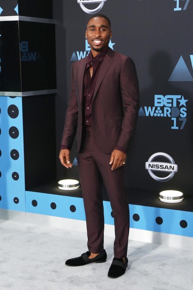 Demetrius Shipp Jr. at the 2017 BET Awards at Microsoft Square on June 25, 2017 in Los Angeles, California....