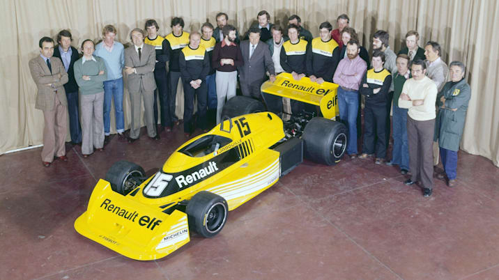 Renault RS01 F1 car