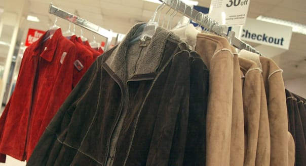 Consumers Shop  For Fall Clothing