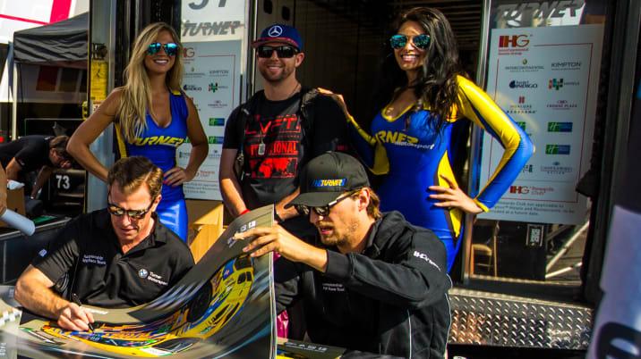 Turner Girls, Turner Motorsport Drivers and Fan