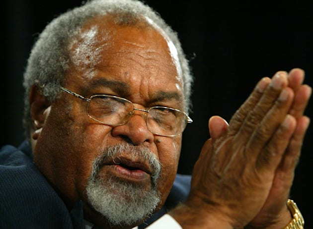 Former PNG Prime Minister Sir Michael