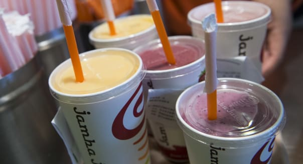 Inside A Jamba Juice Co. Store Amid Comprehensive Expansion