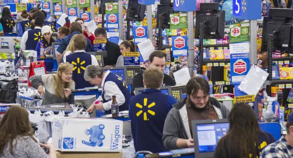 Walmart's Black Friday Starts Strong in Bentonville